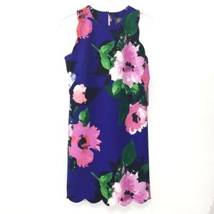 NWT Vince Camuto Sz 8 Sleeveless Floral Dress